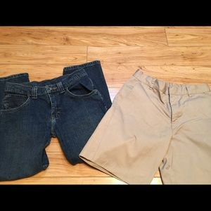 Other - Boys jeans and khaki shorts